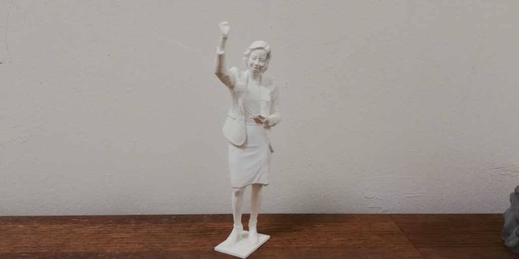 People of The River 3D statue