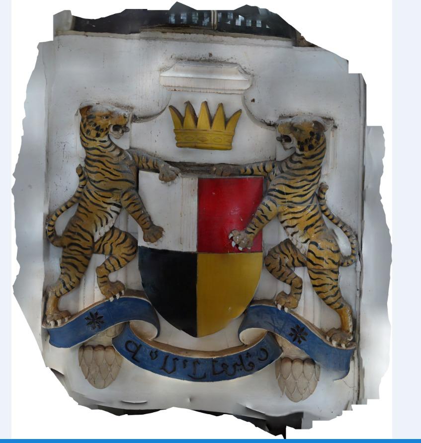 Photogrammetry of crest