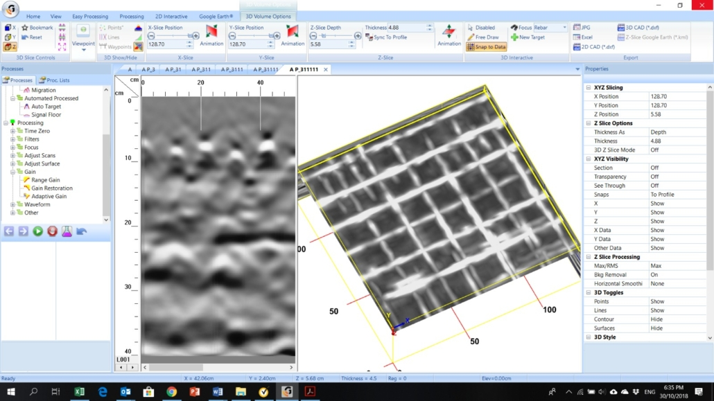 3D Radar Scan
